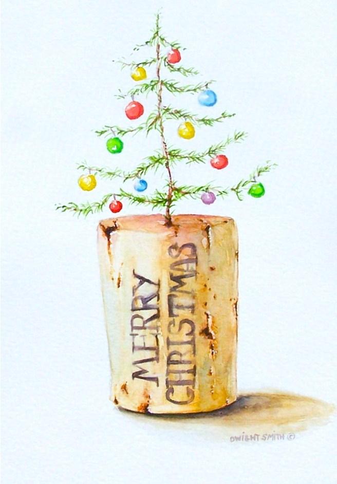 """ A GOOD YEAR "" original fine art by Dwight Smith"
