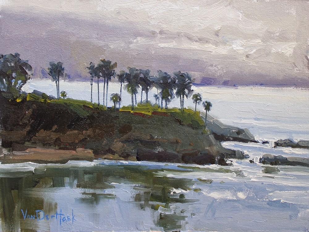 """Morning Mist Laguna"" original fine art by Kim VanDerHoek"