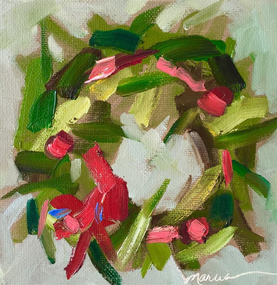 """Simply"" original fine art by Marcia Hodges"