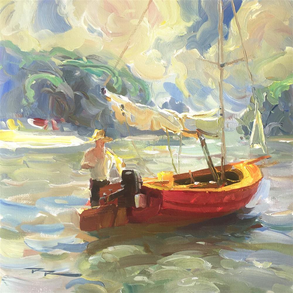 """Summer Tidings"" original fine art by Richard Robinson"