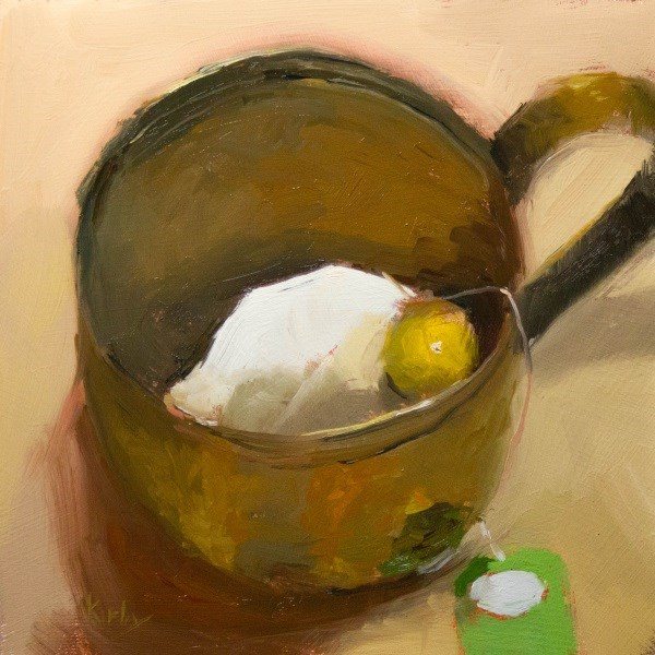 """Lemon Drop"" original fine art by Randall Cogburn"