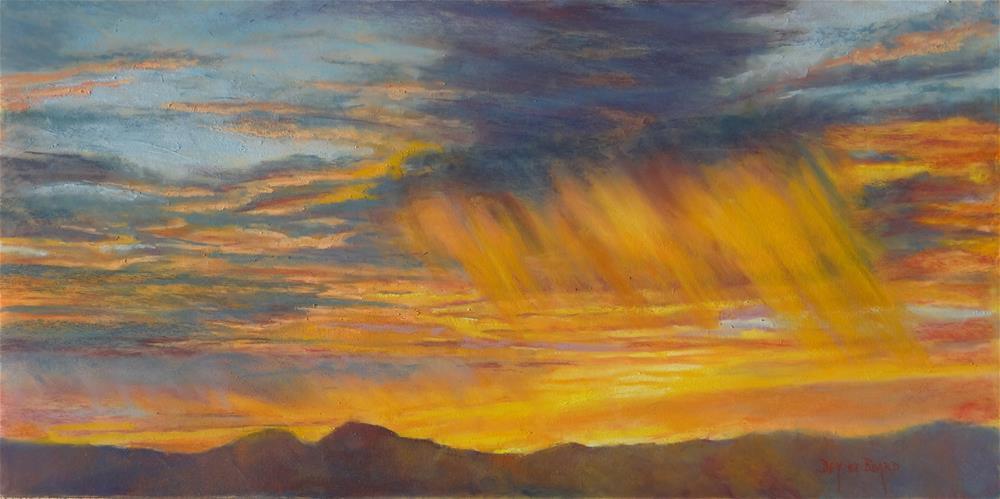 """Sunrise"" original fine art by Denise Beard"