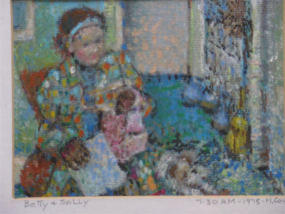 """already to go"" original fine art by meribeth coyne"