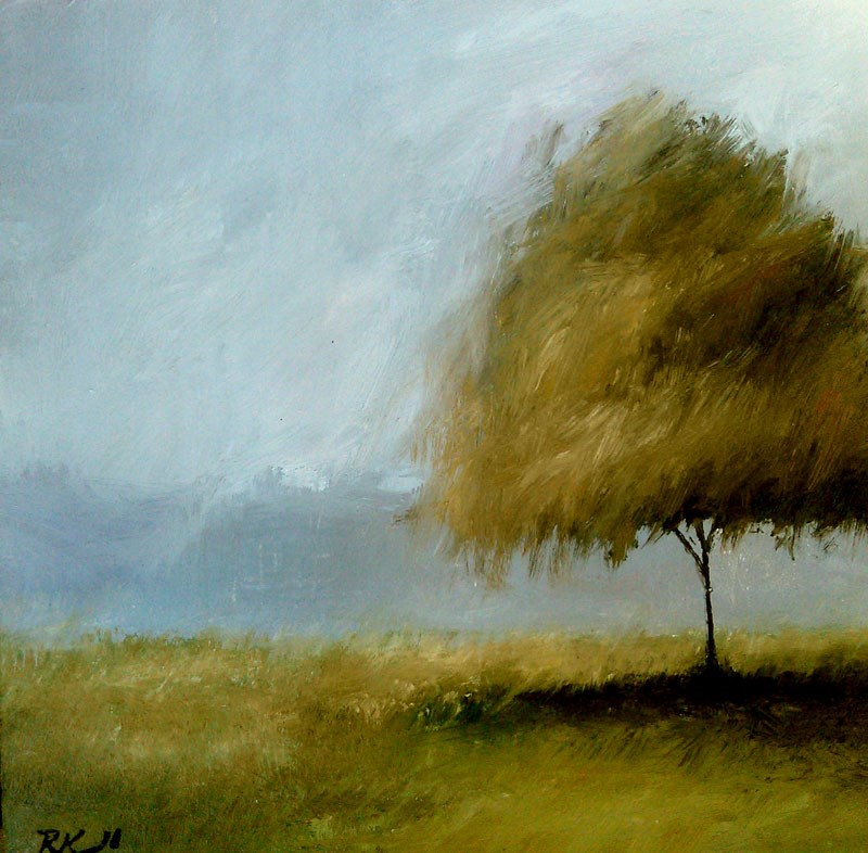 """A Tree in C.M. Park"" original fine art by Bob Kimball"