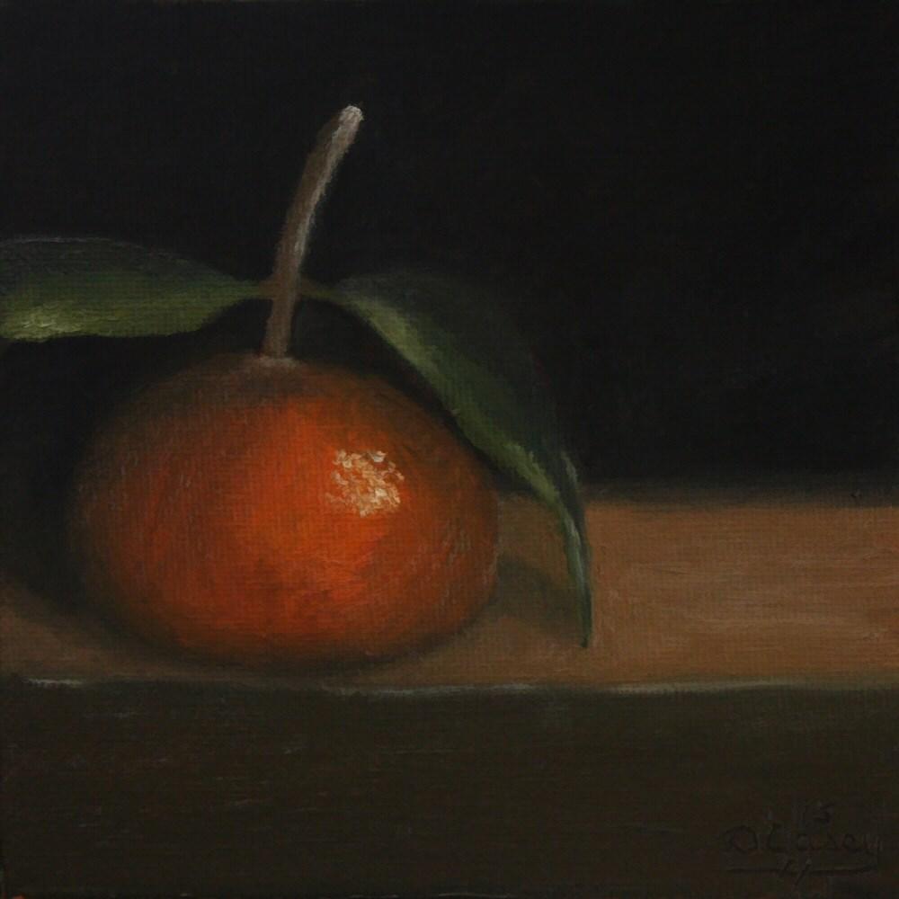 """""""Kitchen Painting – Tangerine 010"""" original fine art by Dave Casey"""