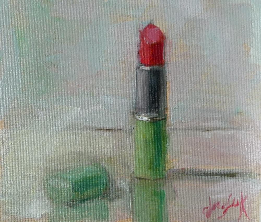 """Red #1"" original fine art by Carol Josefiak"