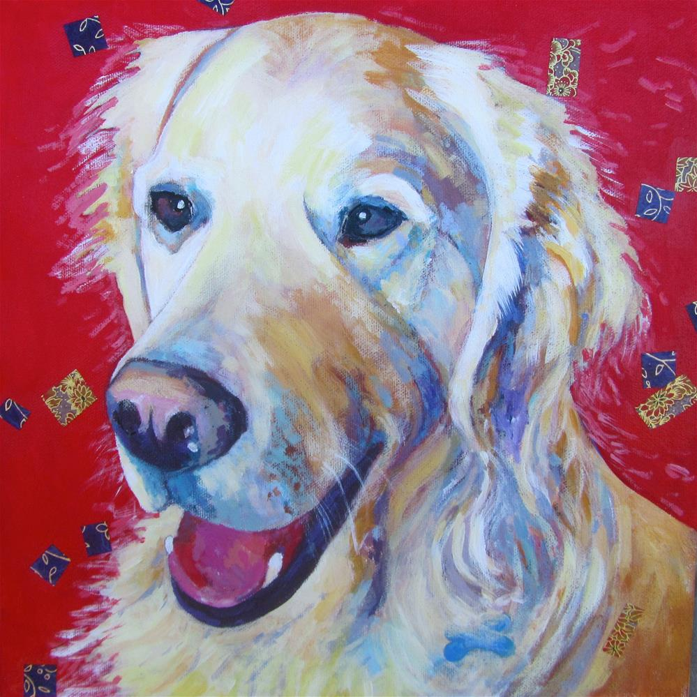 """Freddie"" original fine art by Patricia MacDonald"