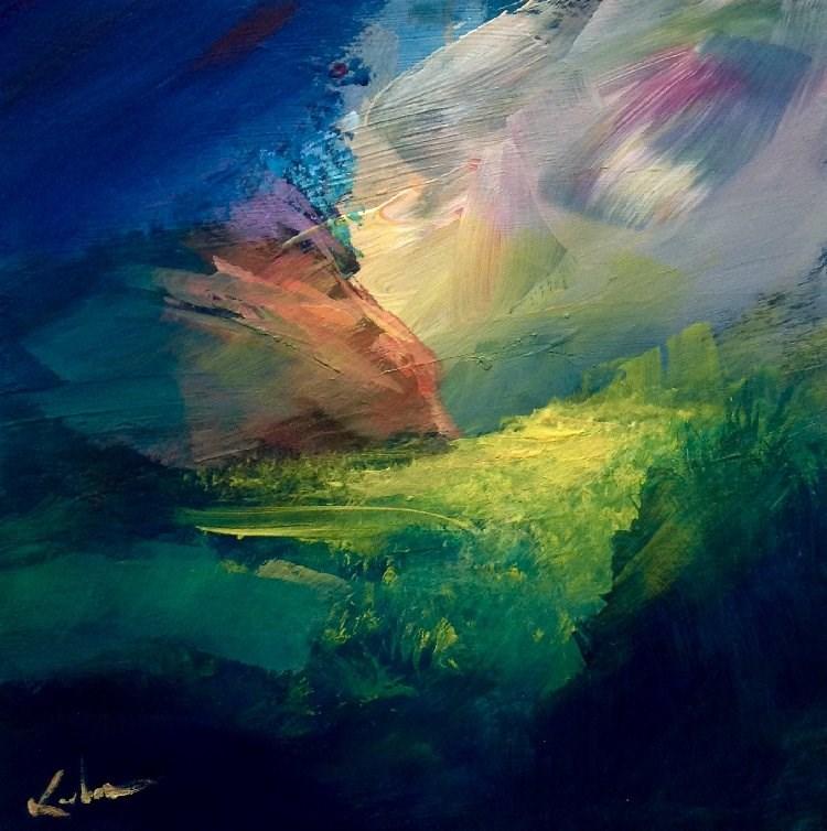 """""""Always Was, Always Will Be"""" original fine art by David Kuhn"""