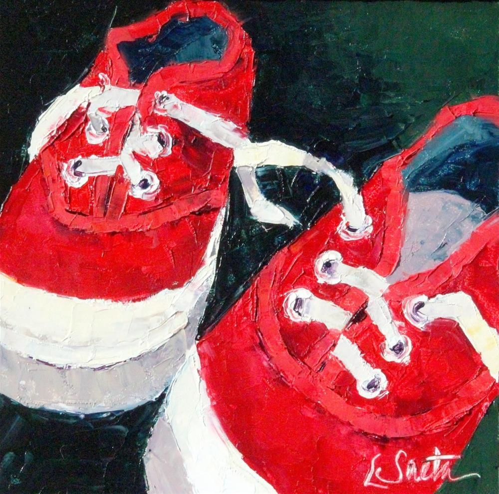 """""""Thirty Paintings in 30 Days - Day Seven"""" original fine art by Leslie Saeta"""