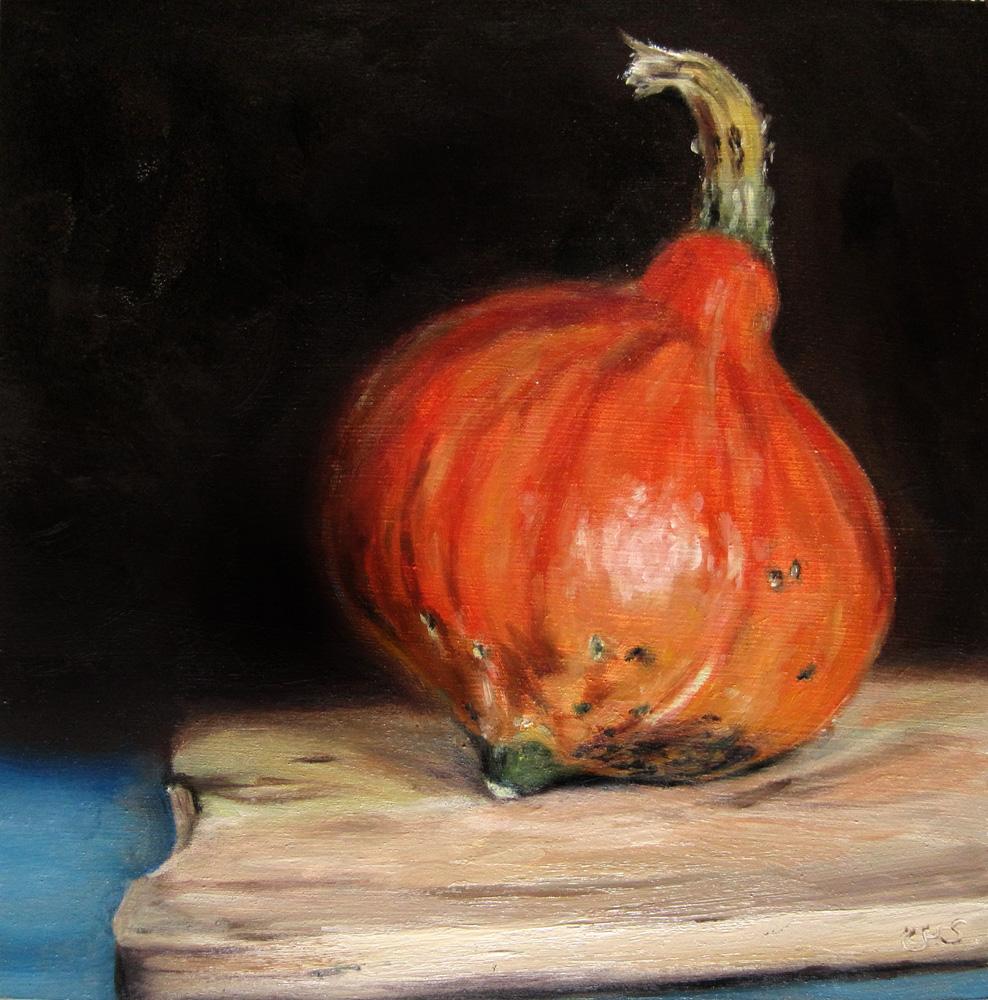 """""""Pumpkin"""" original fine art by Ulrike Miesen-Schuermann"""