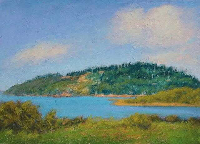 """Near Trinidad, California"" original fine art by Sharon Lewis"
