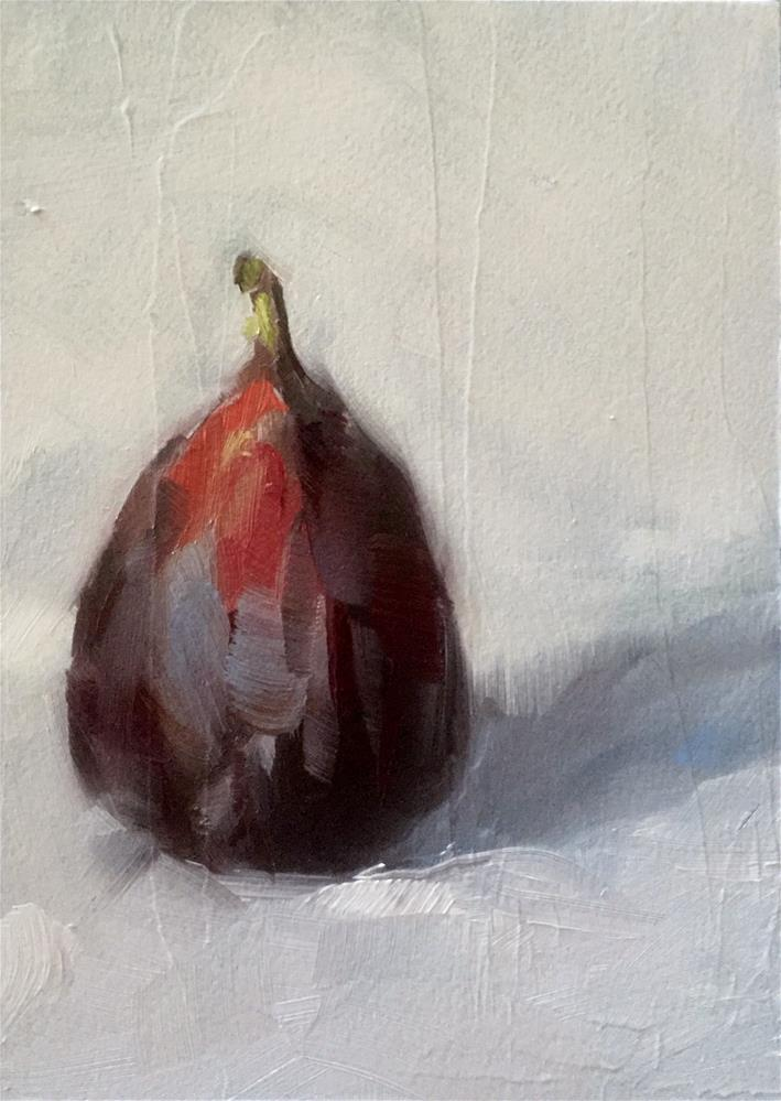"""Fig Study"" original fine art by Gary Bruton"
