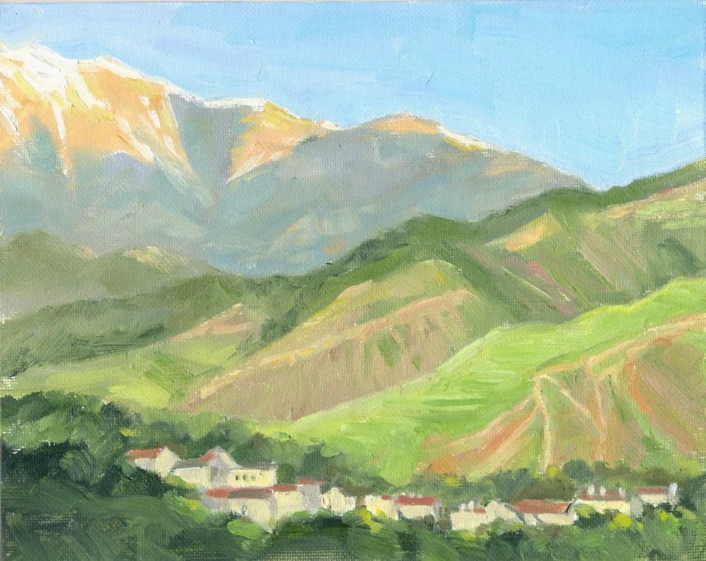"""Colorado Springs Morning"" original fine art by Kath Reilly"