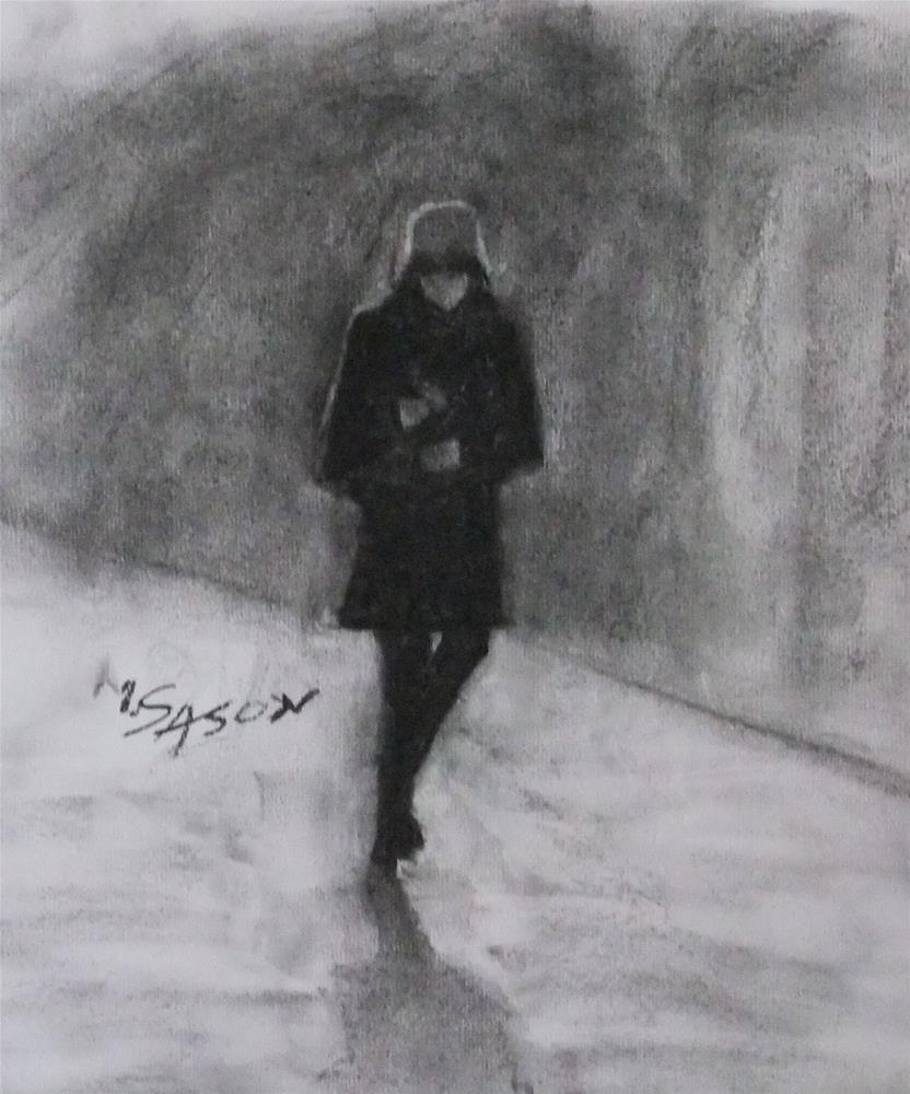 """Figure study #2"" original fine art by Michael Sason"