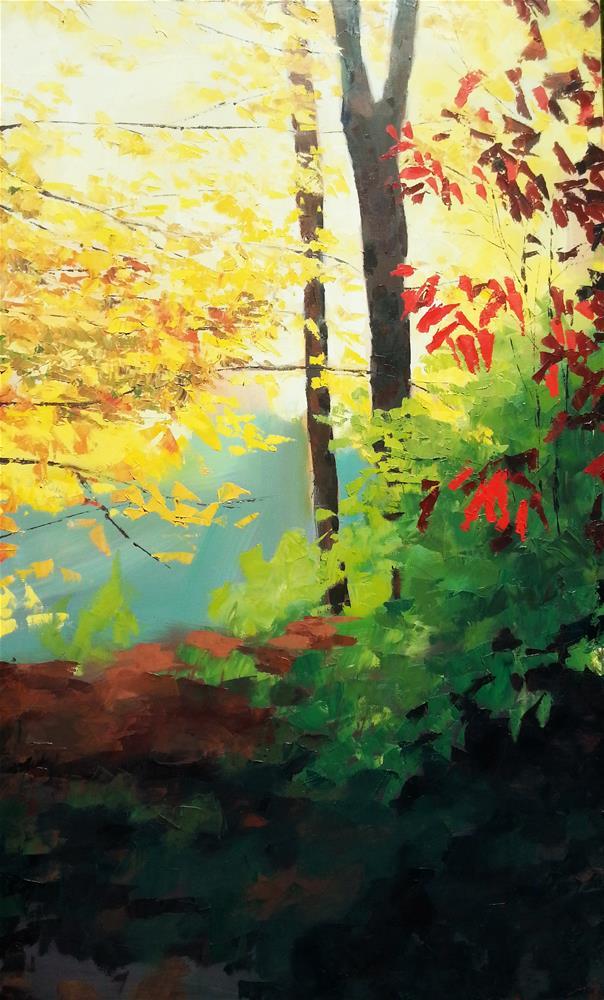 """""""First Light"""" original fine art by Nava Judith"""