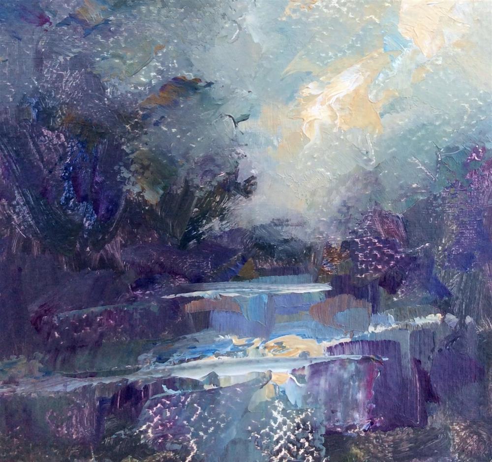 """""""Evening at Cragside"""" original fine art by Anne Wood"""