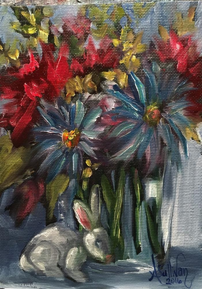 """Sometimes It's the Little Things That Really Matter still life painting by Alabama Artist Angela Sul"" original fine art by Angela Sullivan"