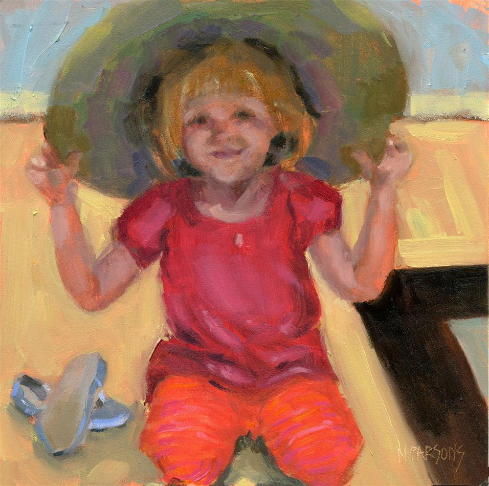 """Puttin' on the Ritz"" original fine art by Nancy Parsons"