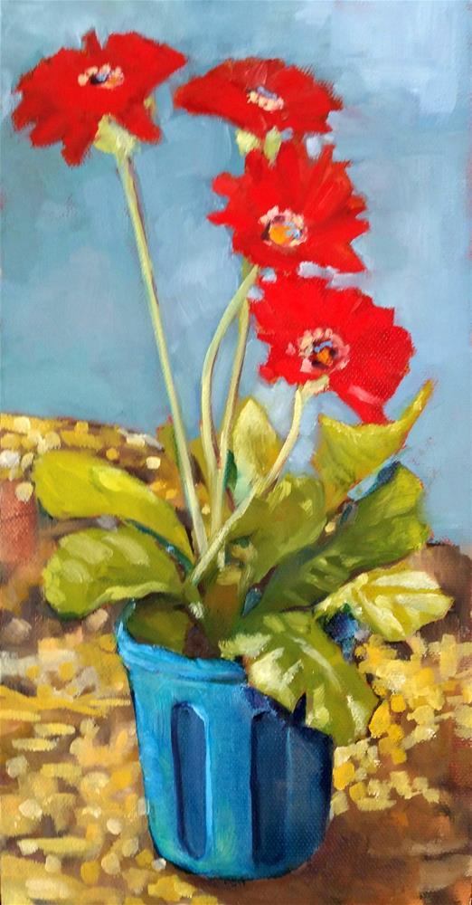 """Red White Blue"" original fine art by De Selby"