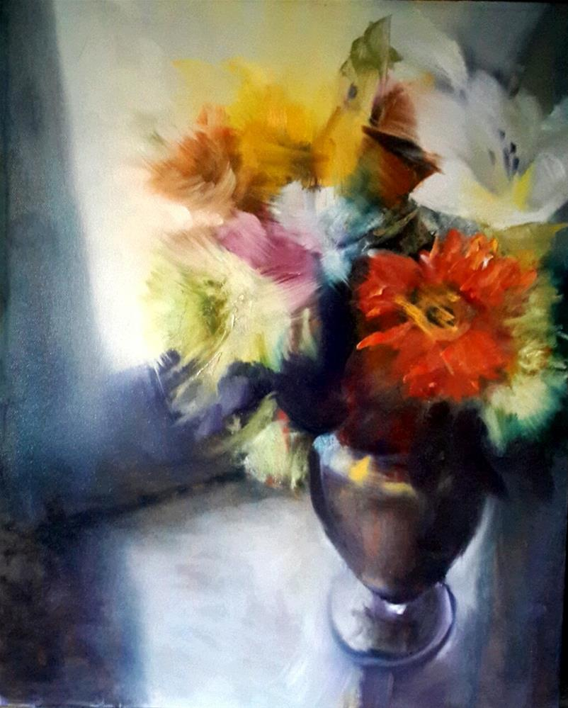 """Colour bazaar"" original fine art by Rentia Coetzee"