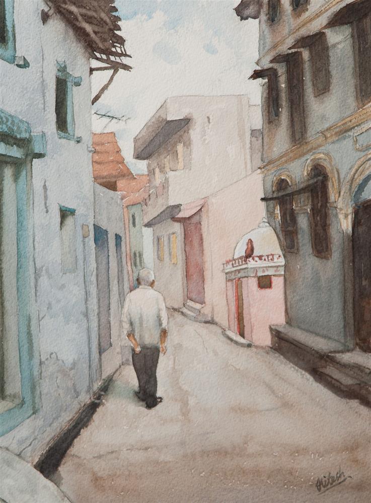 """J.C."" original fine art by Tesh Parekh"