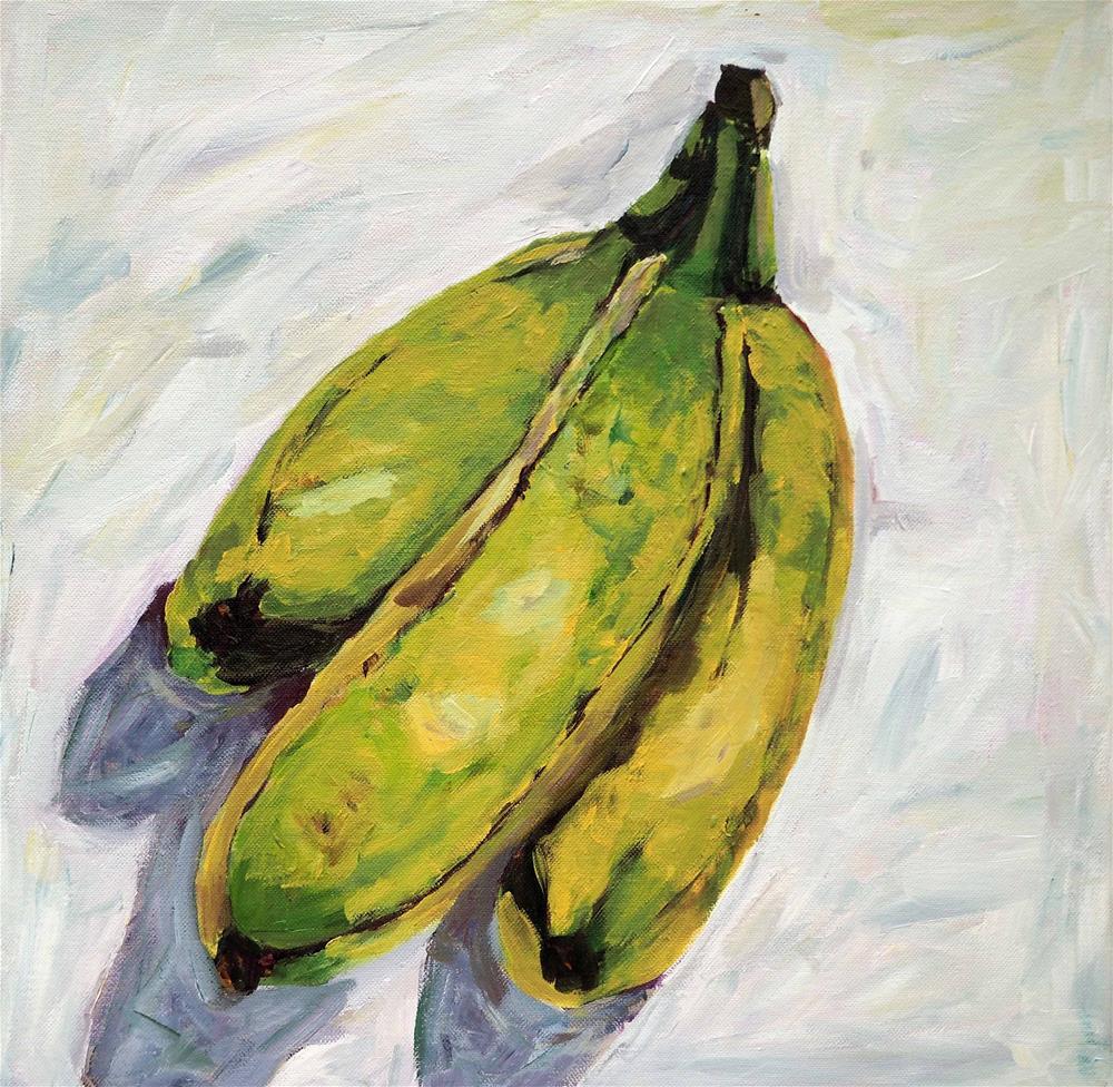 """""""Bananas"""" original fine art by Eva Grünwald"""