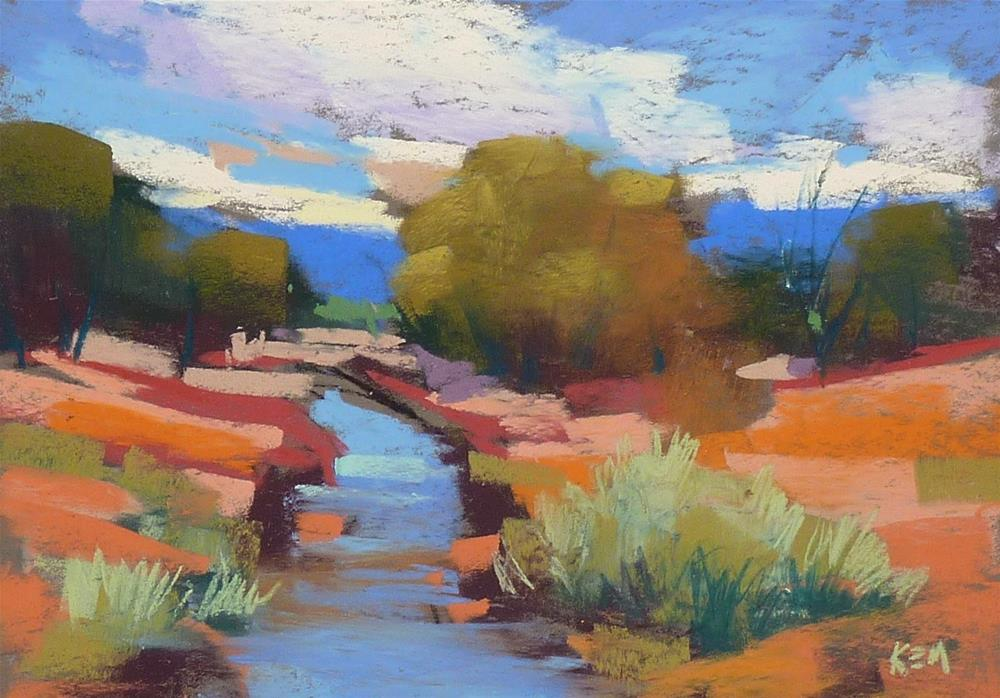 """Three Easy Steps to Choosing Pastels for Plein Air"" original fine art by Karen Margulis"