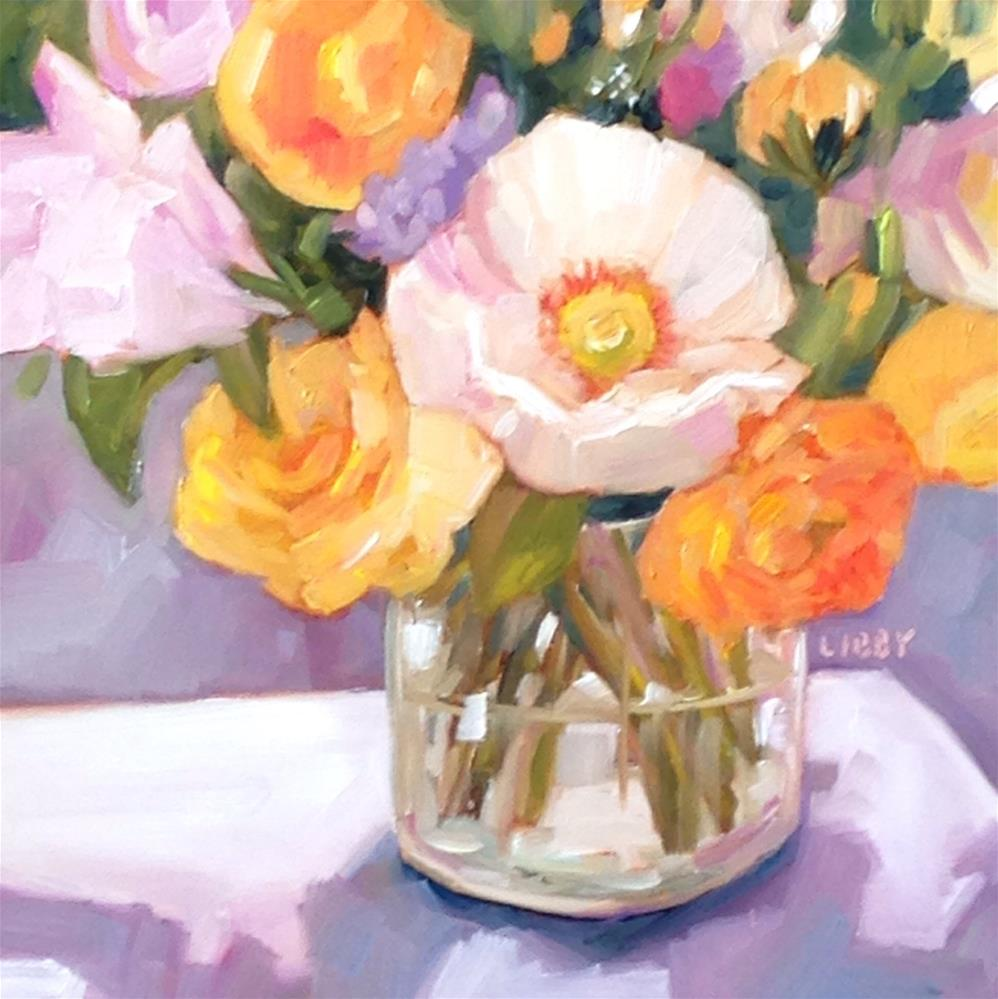 """Best Blooms"" original fine art by Libby Anderson"