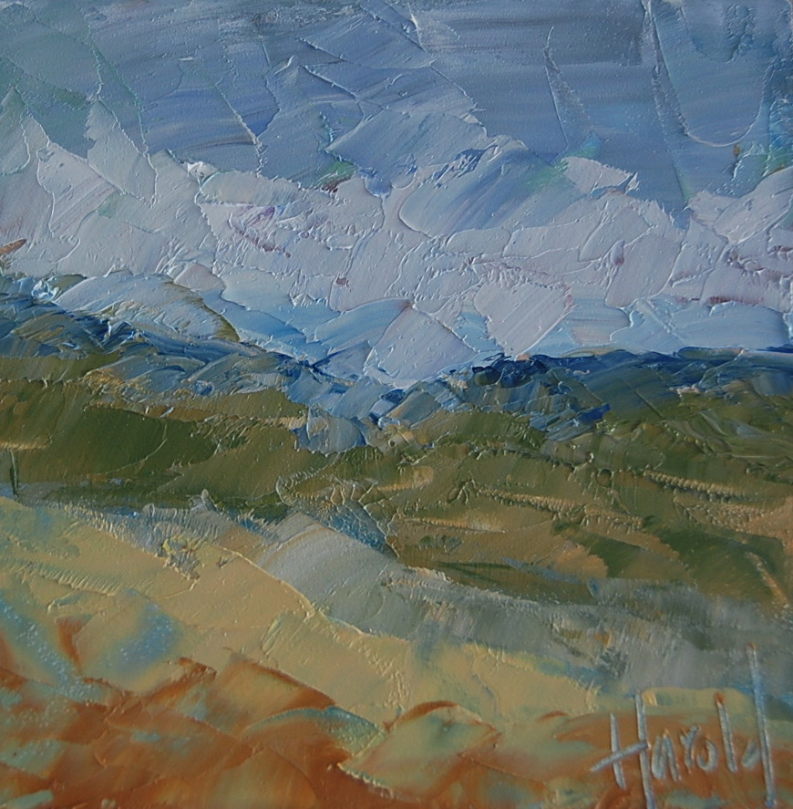 """Canyon"" original fine art by Deborah Harold"