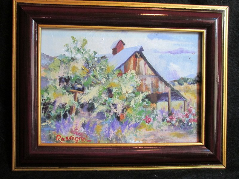"""Hanley Farm"" original fine art by Norm Rossignol"