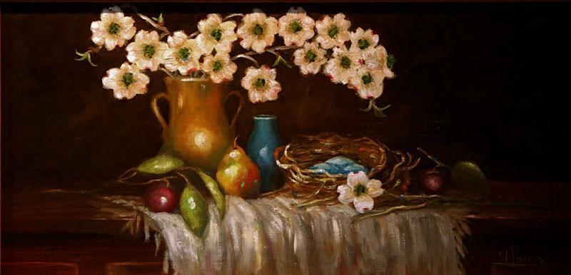 """Spring-available framed or unframed"" original fine art by Sunny Williams"