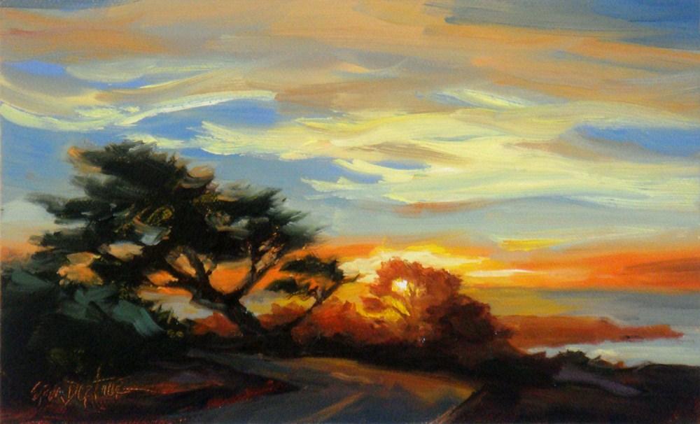 """Heading for Home"" original fine art by Erin Dertner"