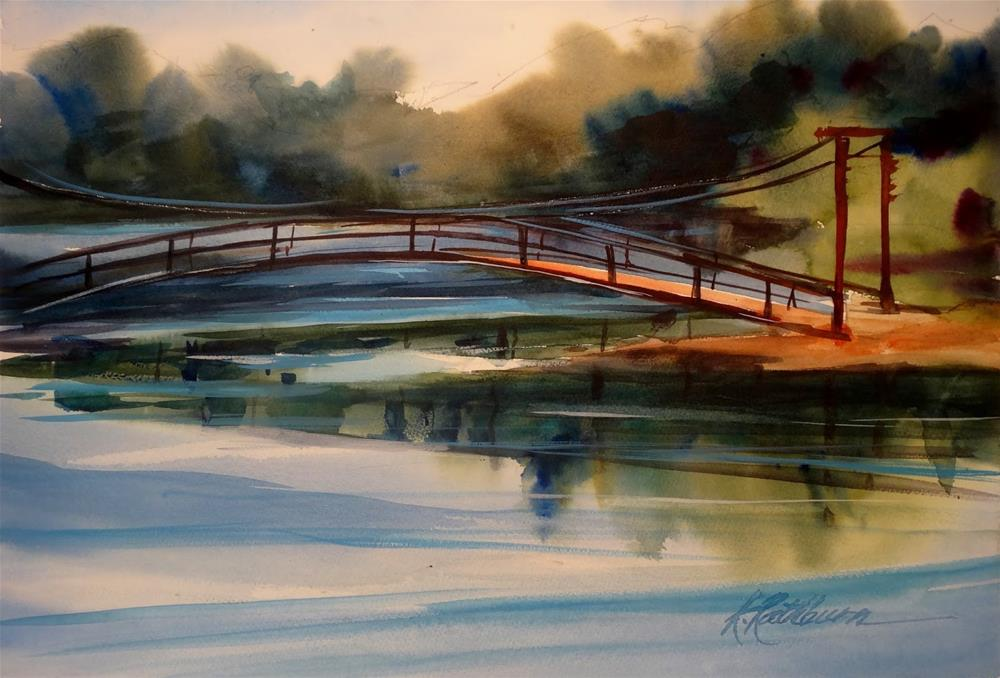 """Reflections"" original fine art by Kathy Los-Rathburn"