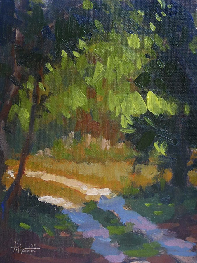 """Bulow Creek Path"" original fine art by Adam Houston"