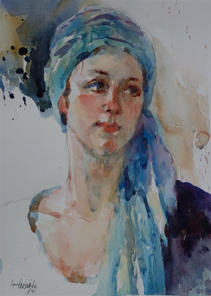 """""""Angelic"""" original fine art by Lorraine Lewitzka"""
