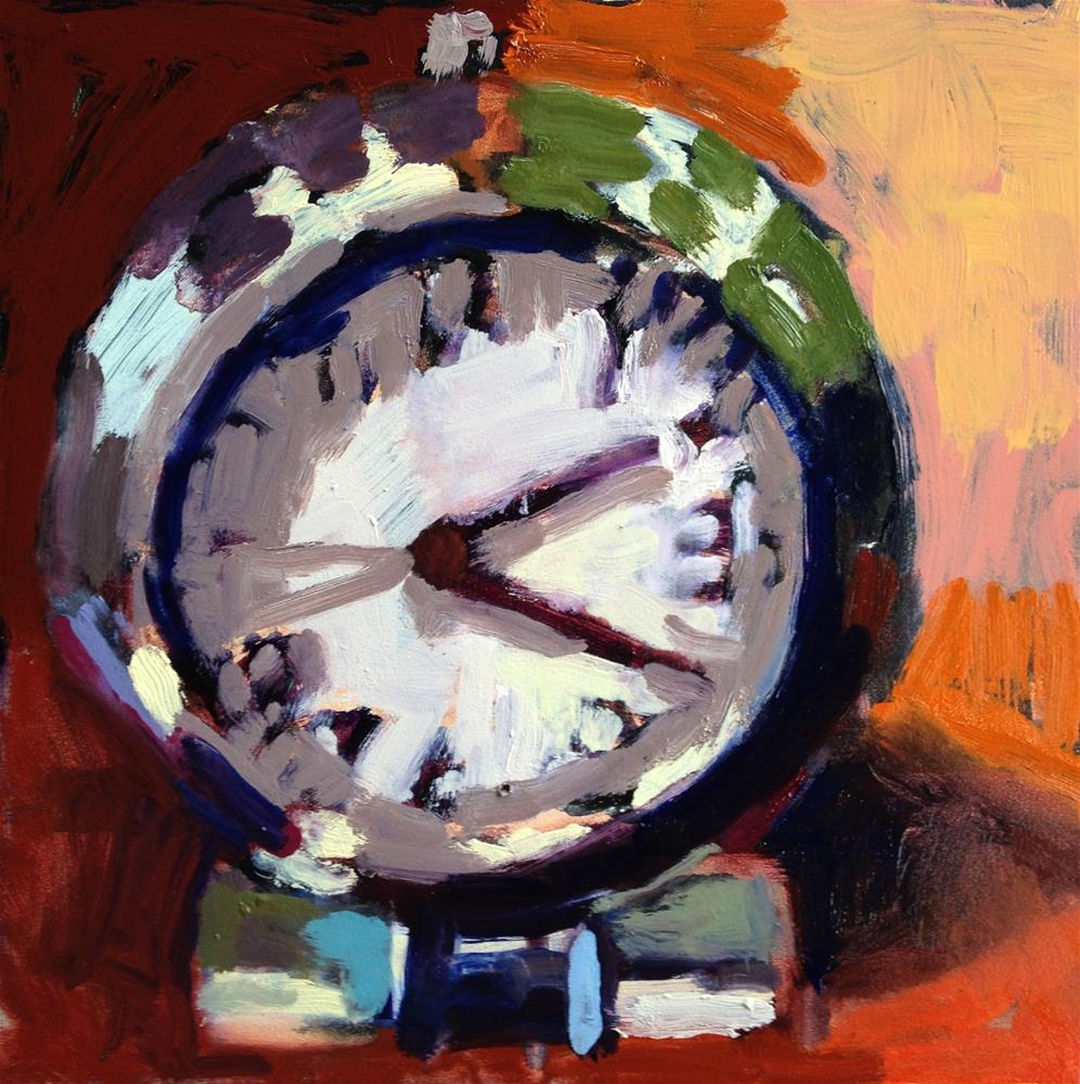 """It's About Time"" original fine art by Pamela Hoffmeister"