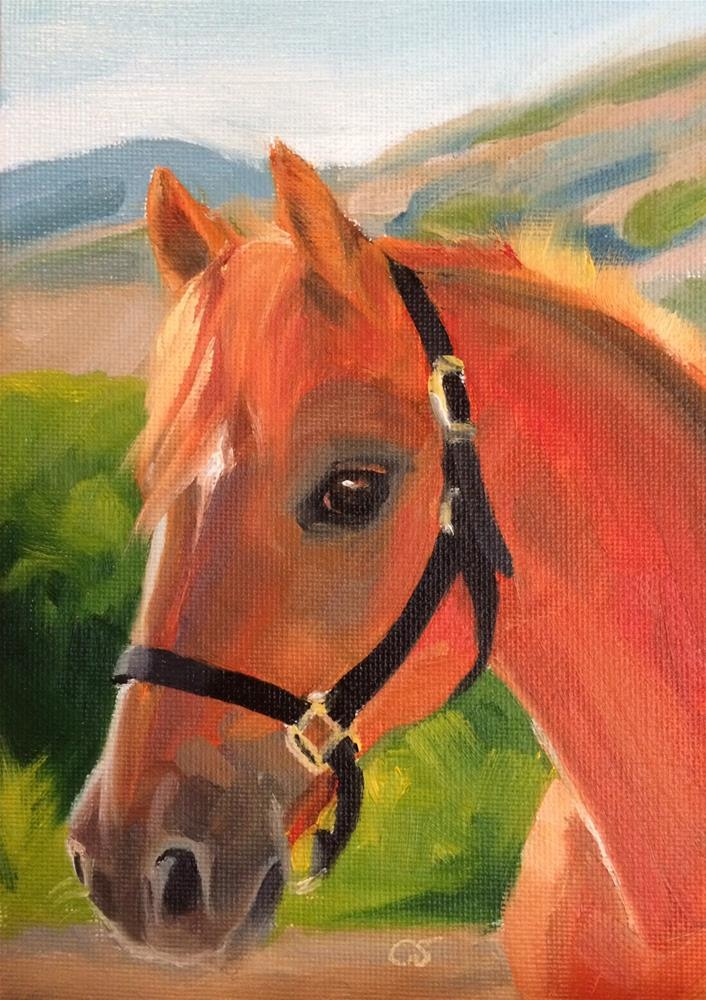"""""""Moonstar"""" original fine art by Carol Stickley"""