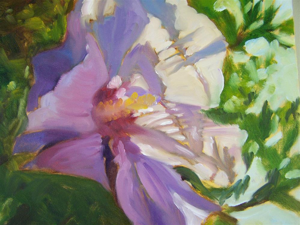 """Hibiscus"" original fine art by Joan Reive"