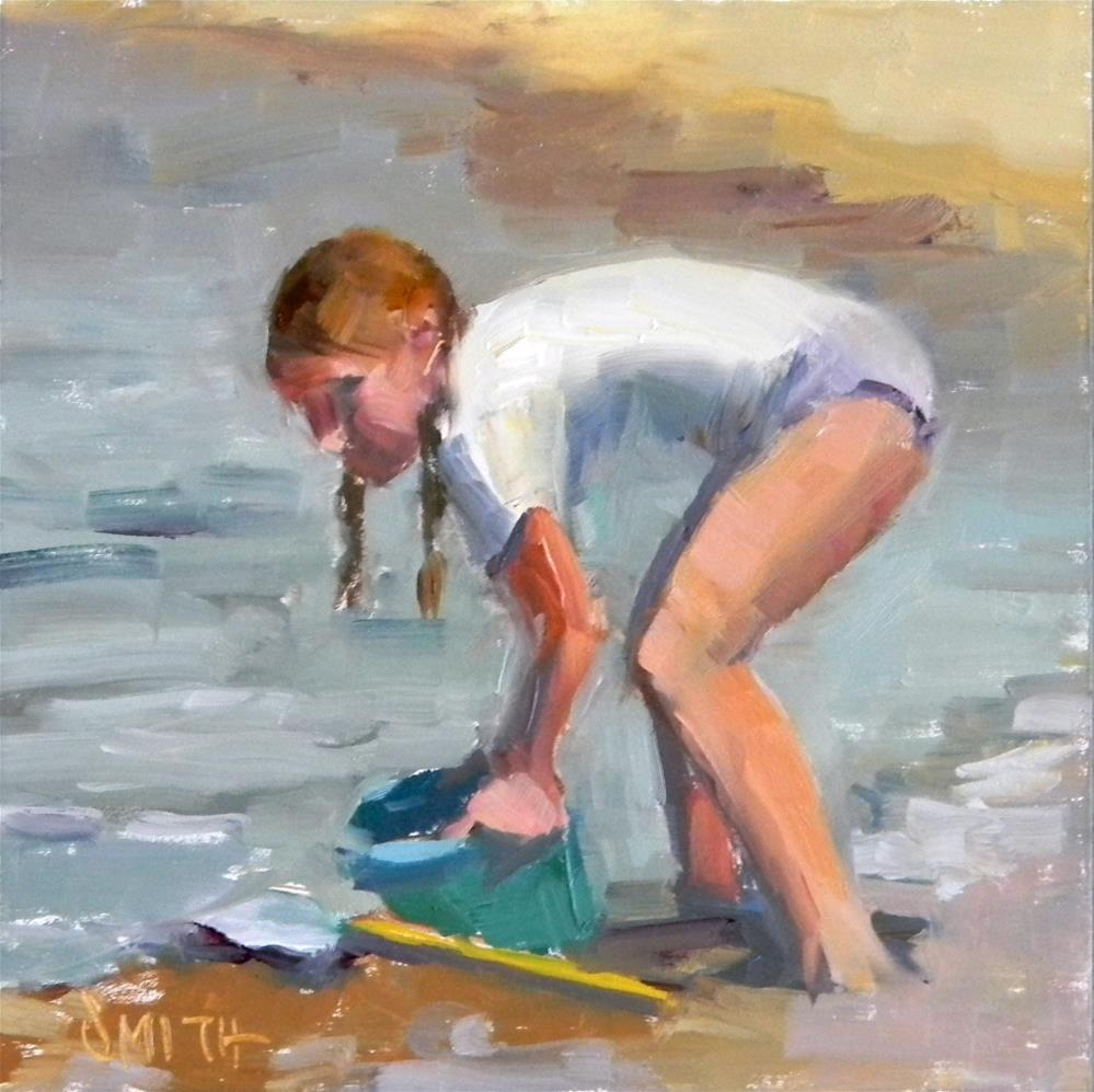"""""""Summer Days"""" original fine art by Barbie Smith"""