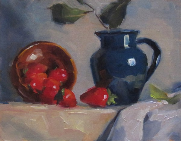 """""""30 Paintings in 30 Days. Day 2"""" original fine art by Katia Kyte"""