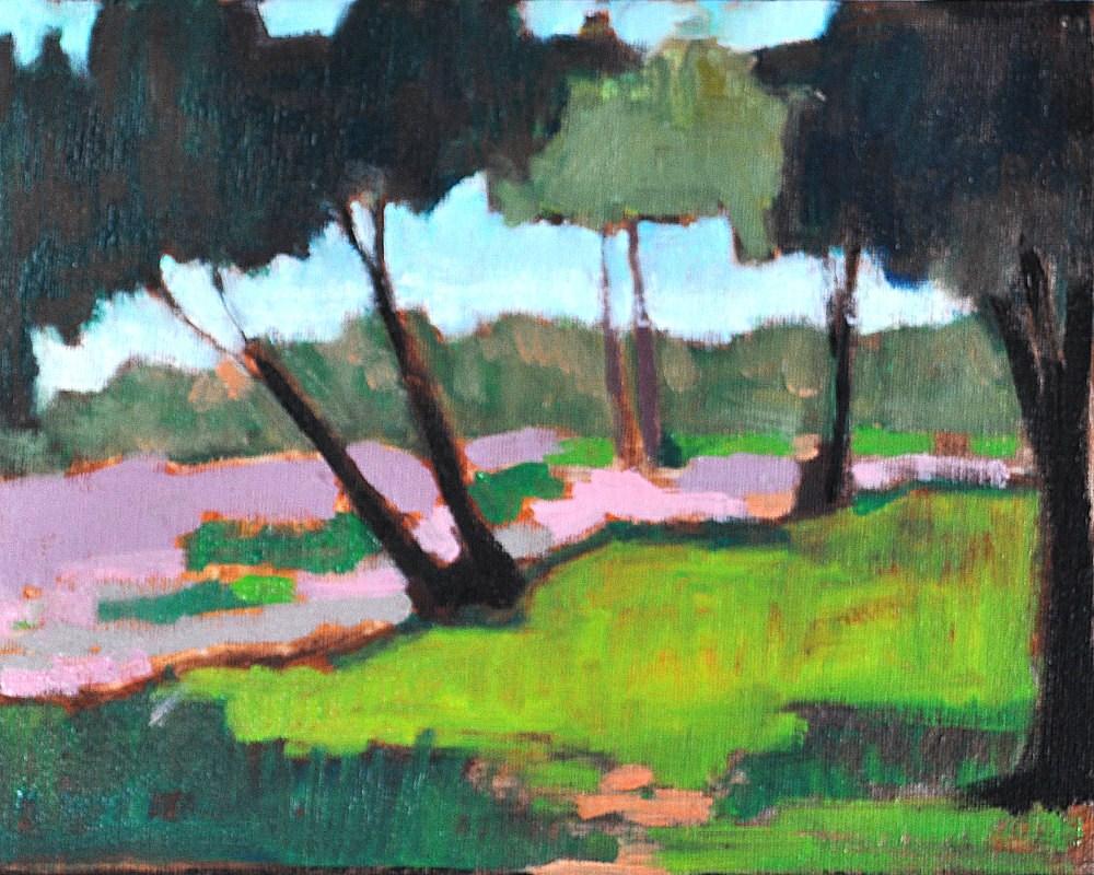 """June Eucalyptus"" original fine art by Kevin Inman"
