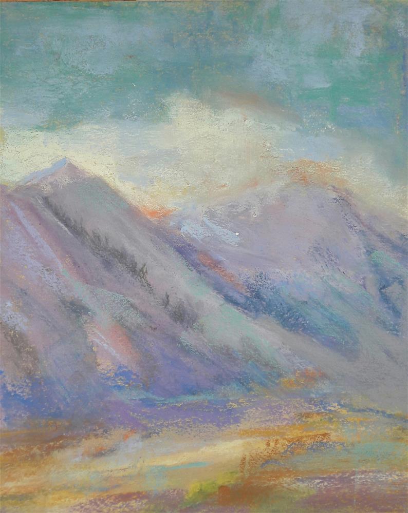 """Brush Creek Mood"" original fine art by Becky Chappell"