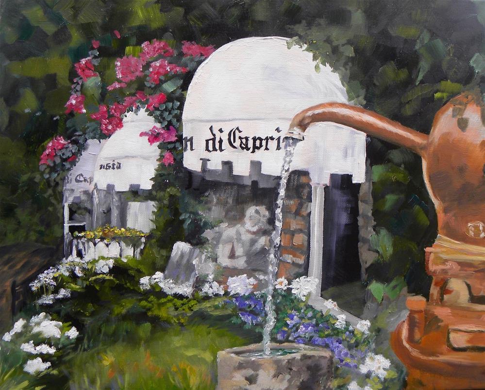 """Capri Perfumery"" original fine art by cheryl buhrman"