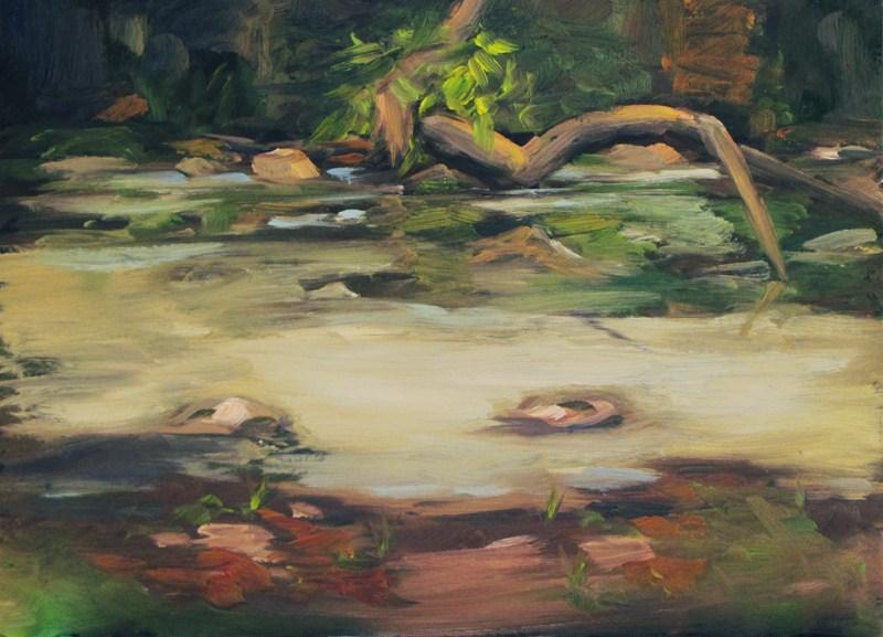 """Still River"" original fine art by Dave Froude"