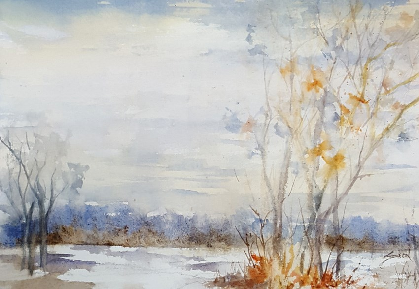 """Days to Come"" original fine art by Sue Dion"