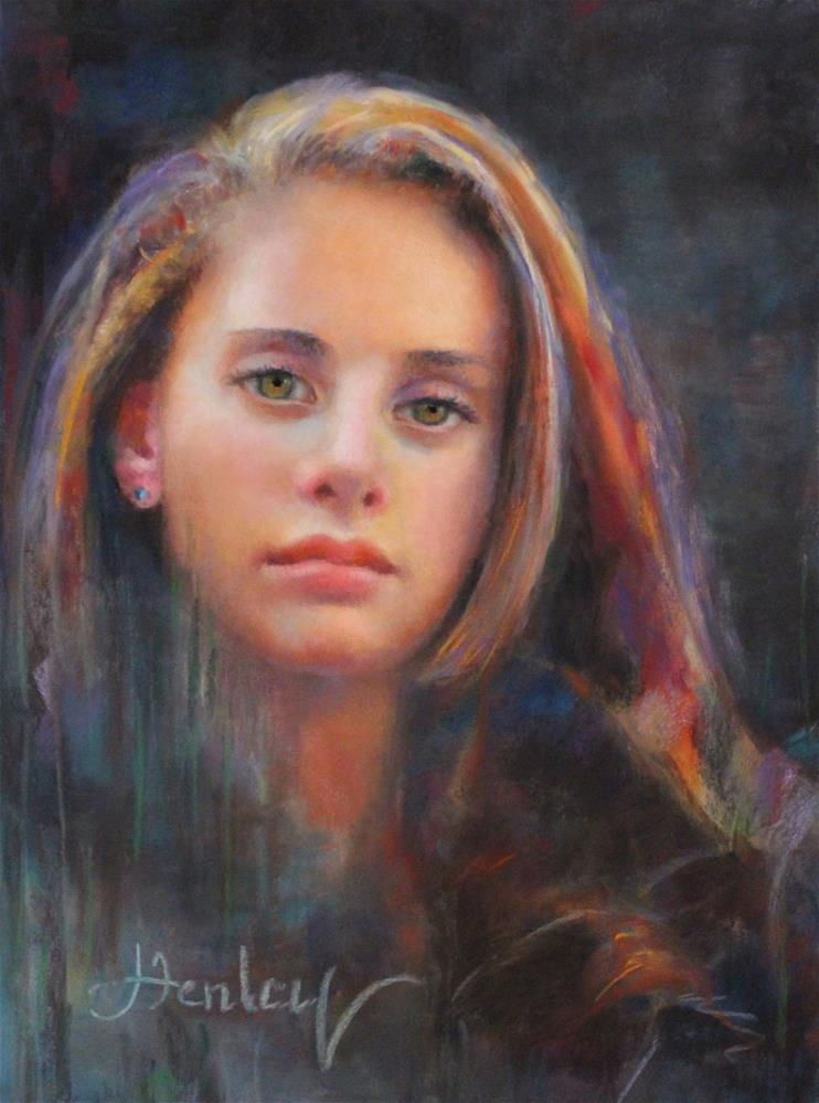 """Emily Ann"" original fine art by Denise Henley"