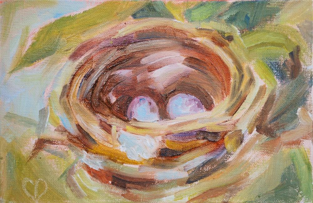 """New Life!"" original fine art by Carol DeMumbrum"