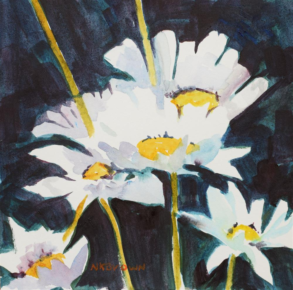 """The Friendliest Flower"" original fine art by Nancy Brown"
