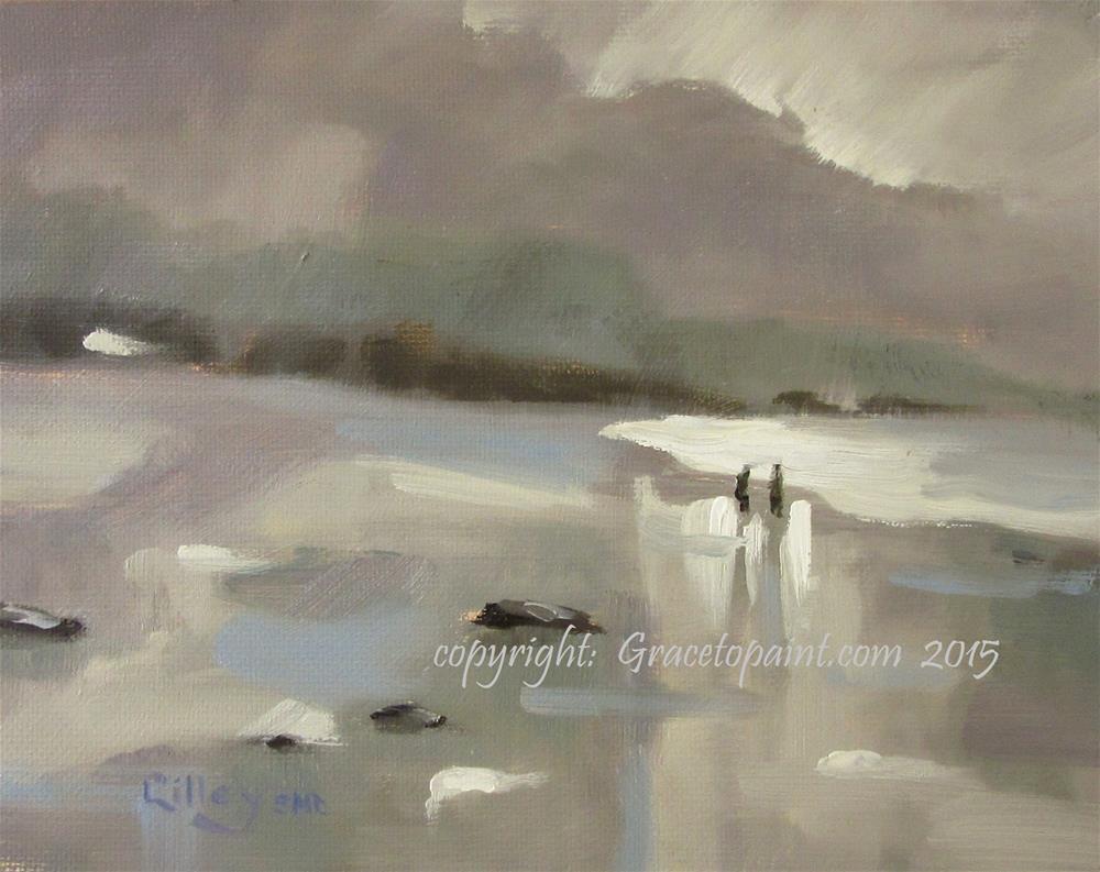 """Edges of Light"" original fine art by Maresa Lilley"