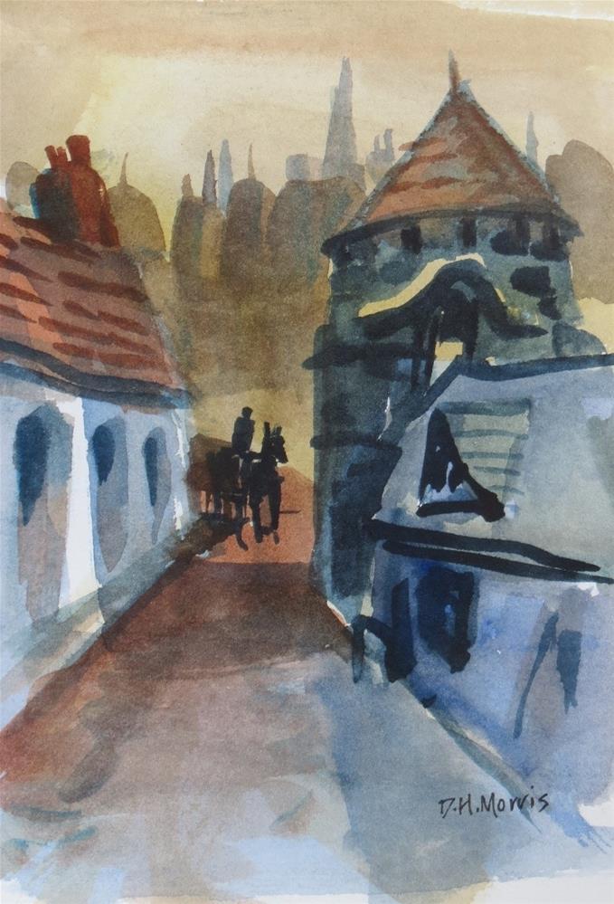 """Early Riser"" original fine art by Dann Morris"
